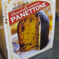Panettone:  Trader Joe's Over the Top One